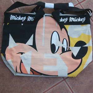 DISNEY JAPAN/MICKEY MOUSE/CANVAS TOTE BAG